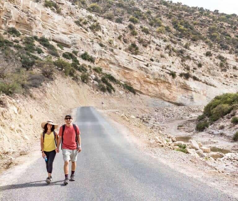 agadir-hiking-road-couple