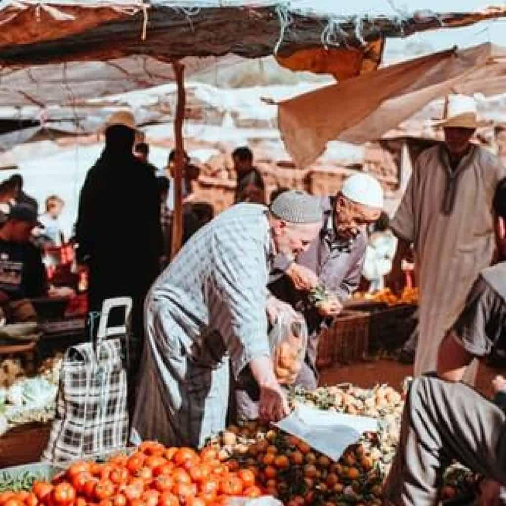 Aourir market