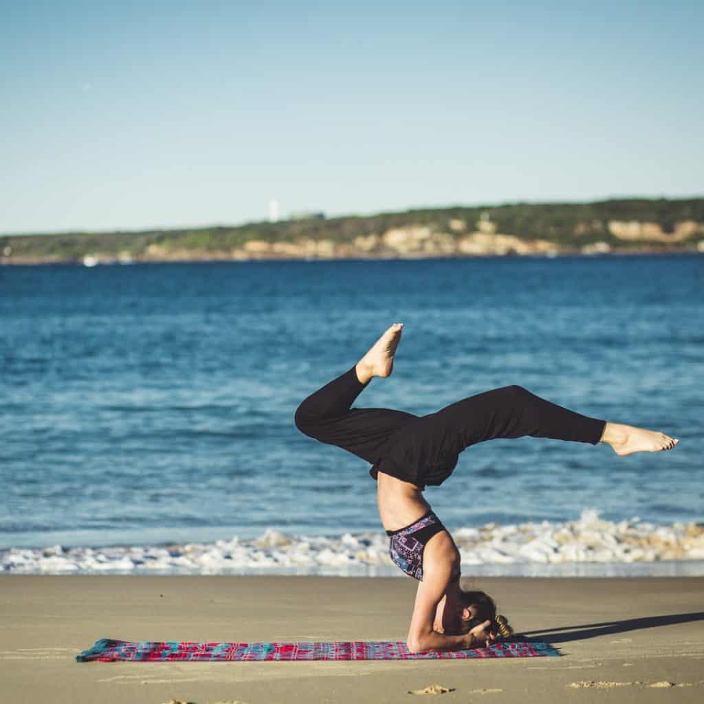 yoga taghazout beach