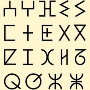 Tifinagh Alphabet