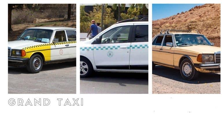Grand Taxi at Agadir