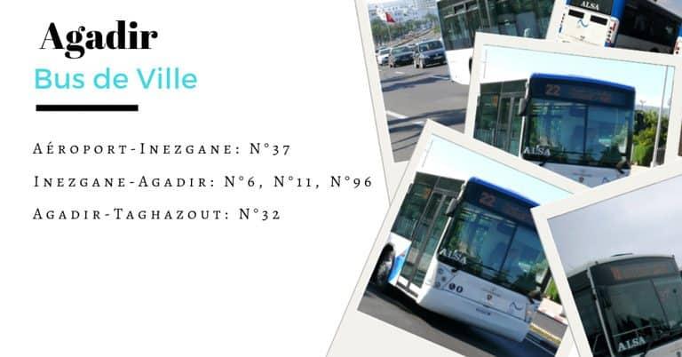 aeroport agadir bus