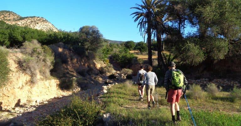 people hiking Agadir